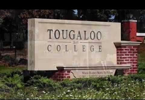 Tougaloo College sign