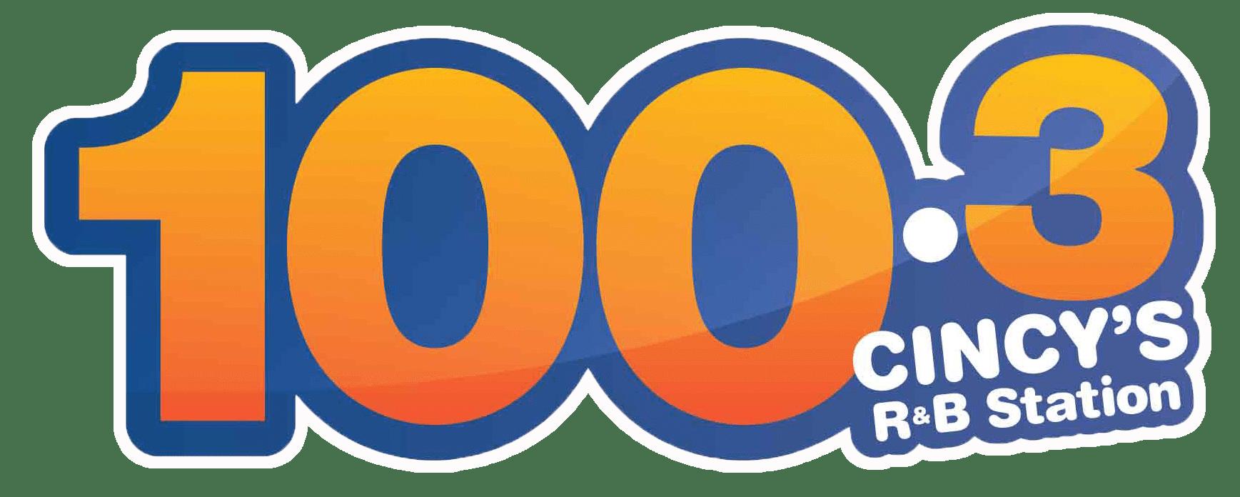 100.3 FM logo