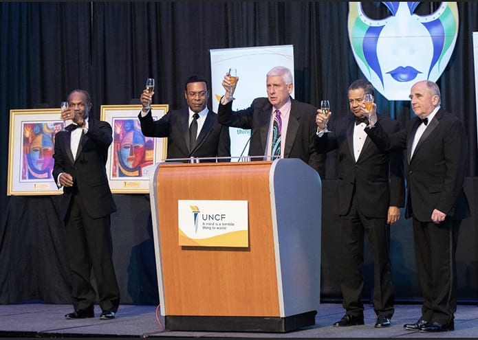 Hampton Roads Mayors Giving a Toast