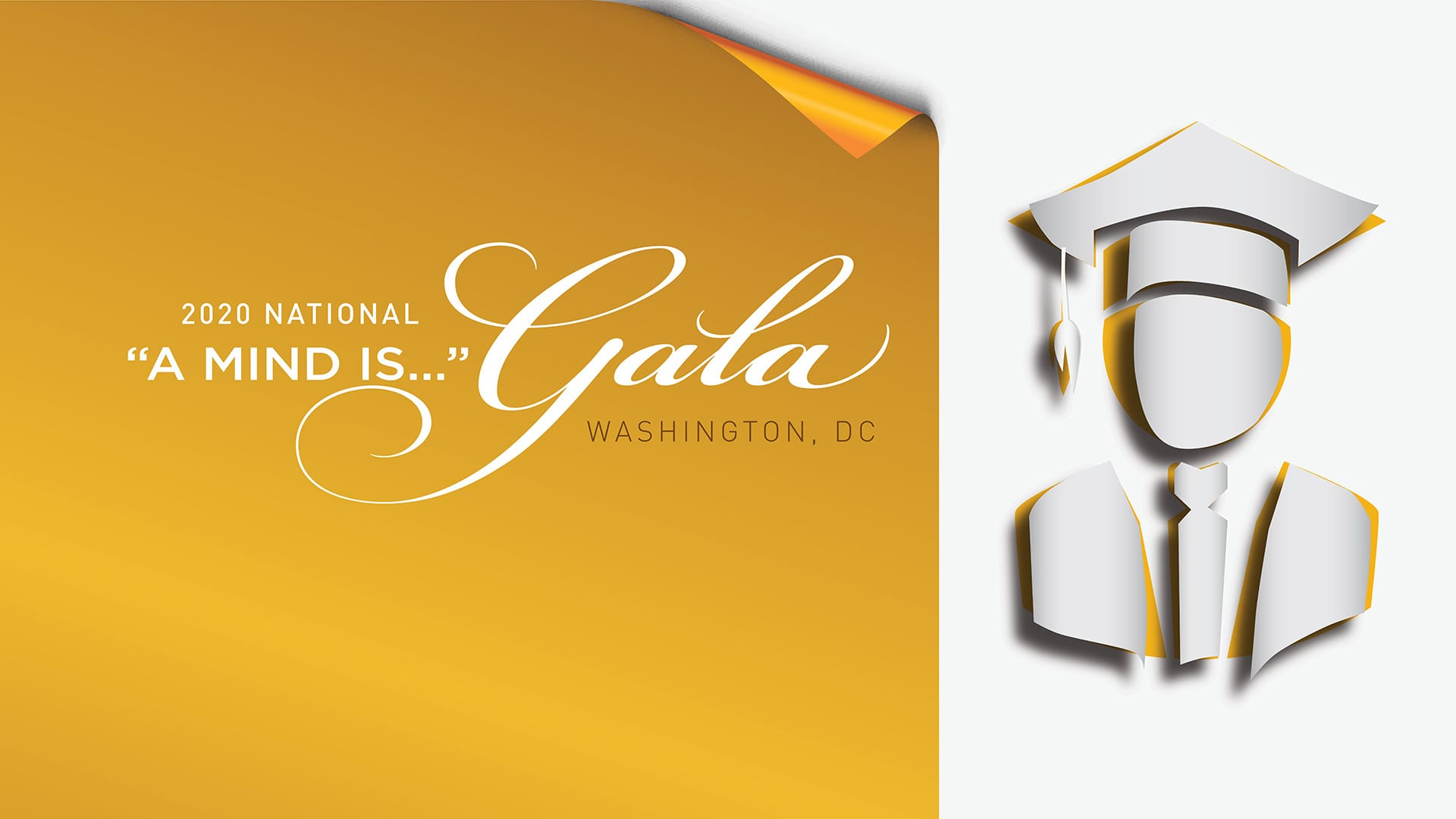 Hero banner for UNCF A Mind Is Gala