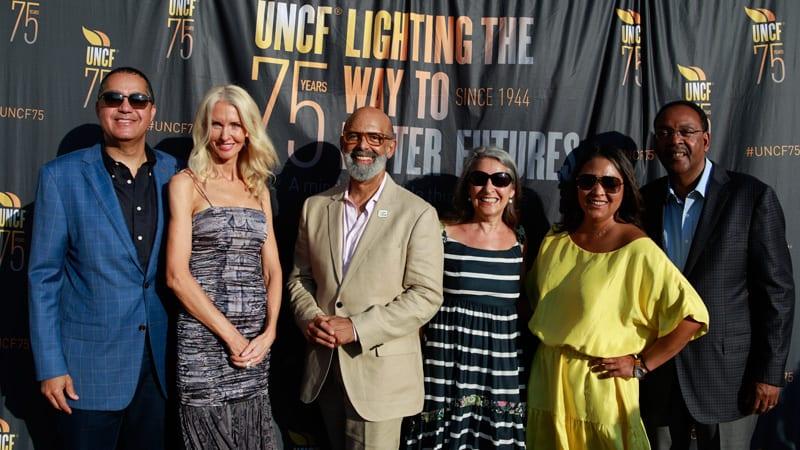 UNCF event participants