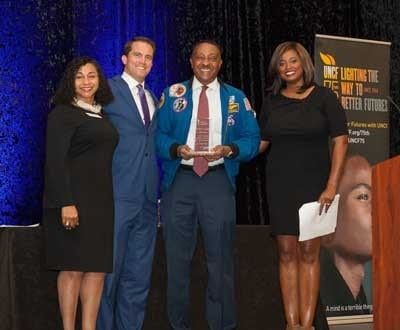 winston scott and UNCF staff