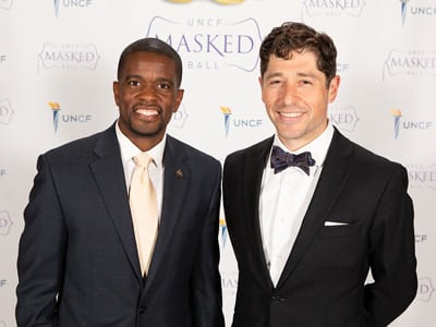 Event chairs St. Paul Mayor Melvin Carter and Minneapolis Mayor Jacob Frey