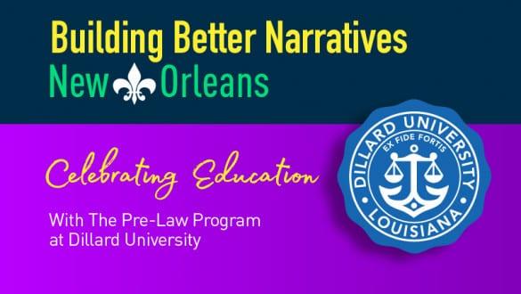 nola dillard pre law program banner