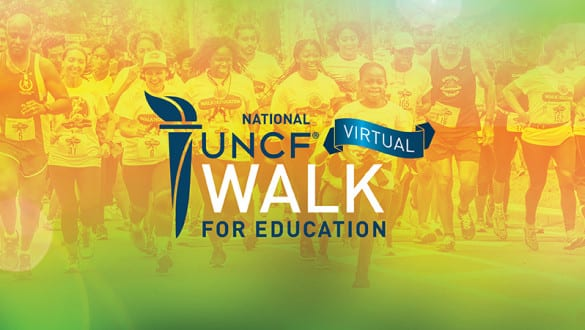 UNCF Virtual Walk for Education Hero Banner Image