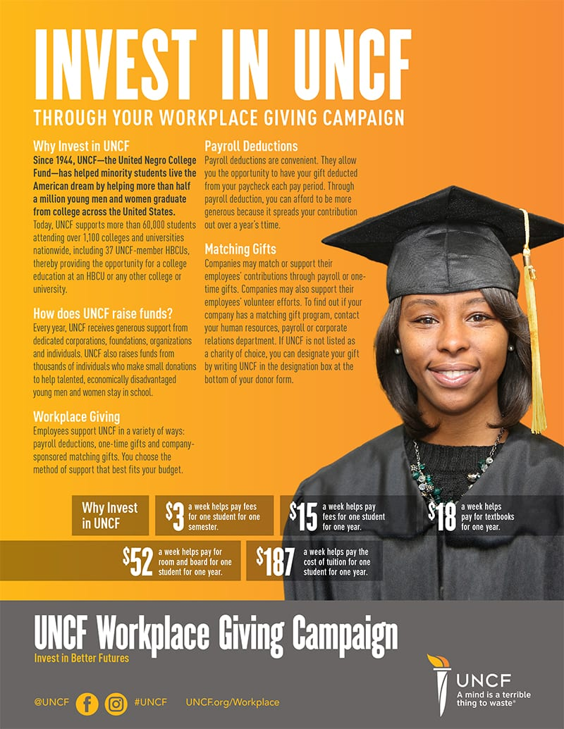 workplace campaign flyer