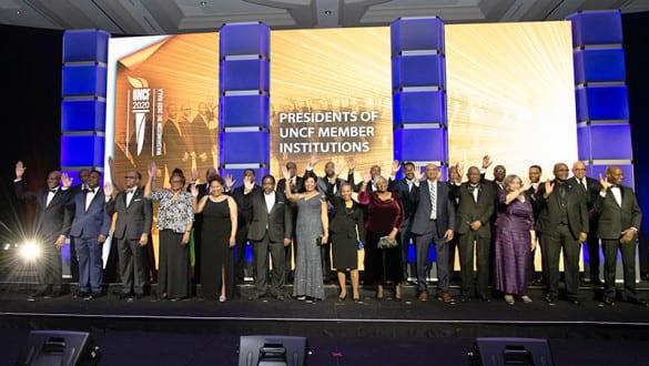 presidents at the gala