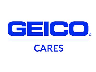 geico cares logo