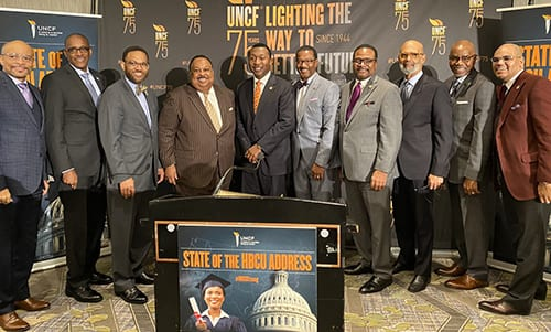 SOTHBCU Event UNCF staff and HBCU presidents
