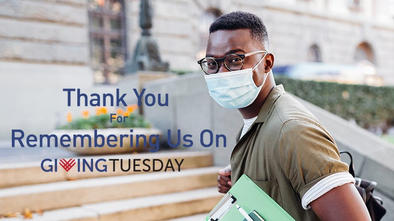 2020 Giving Tuesday banner: Thank You