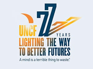 77th anniversary logo