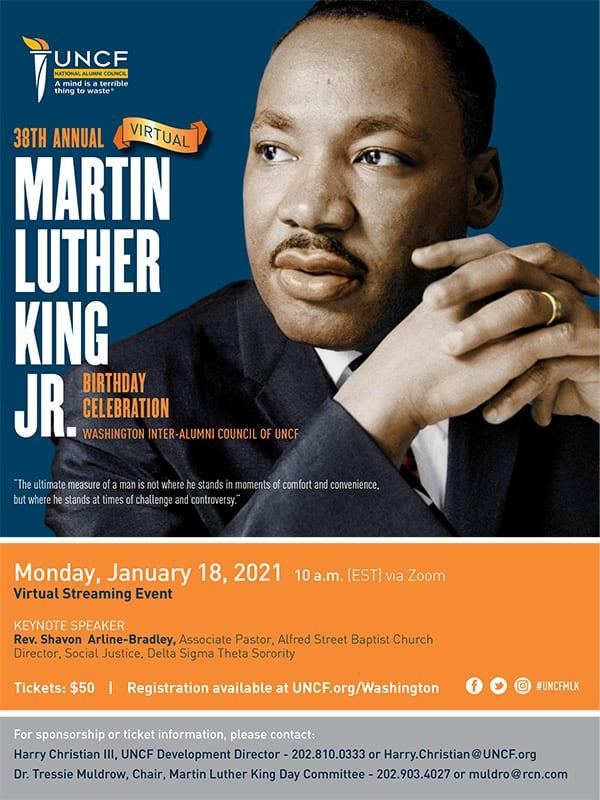 DC MLK flyer
