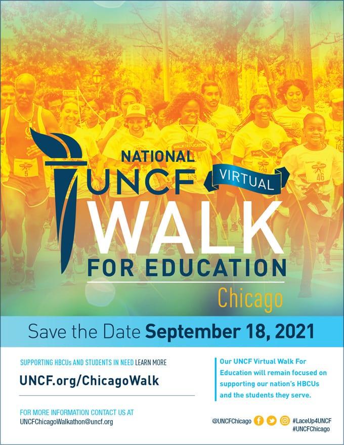 2021 Virtual Walk for Education – Chicago