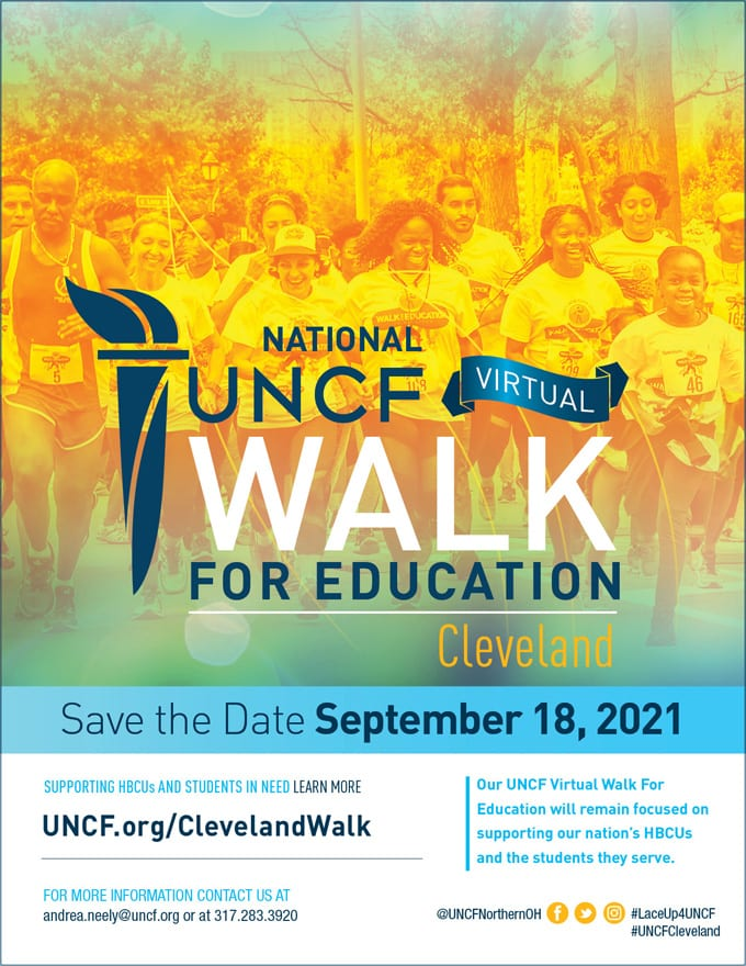 2021 Virtual Walk for Education – Cleveland