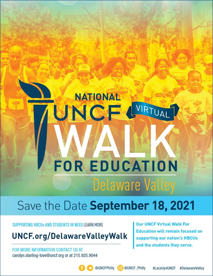2021 Virtual Walk for Education – Delaware Valley