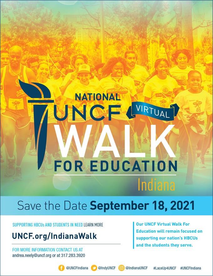 2021 Virtual Walk for Education – Indiana