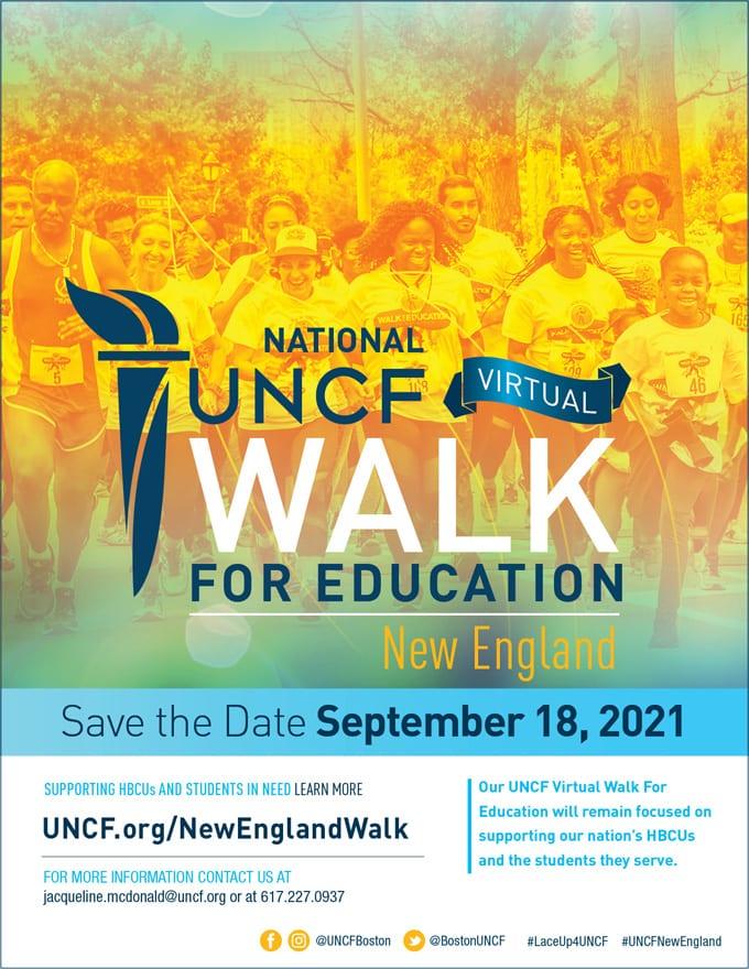 2021 Virtual Walk for Education – New England