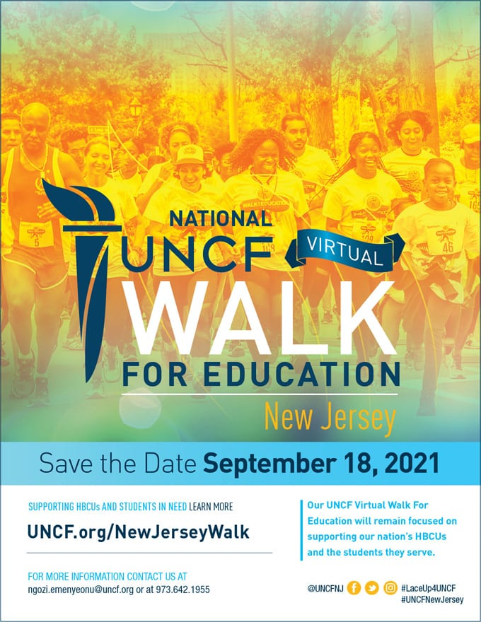 2021 Virtual Walk for Education – New Jersey