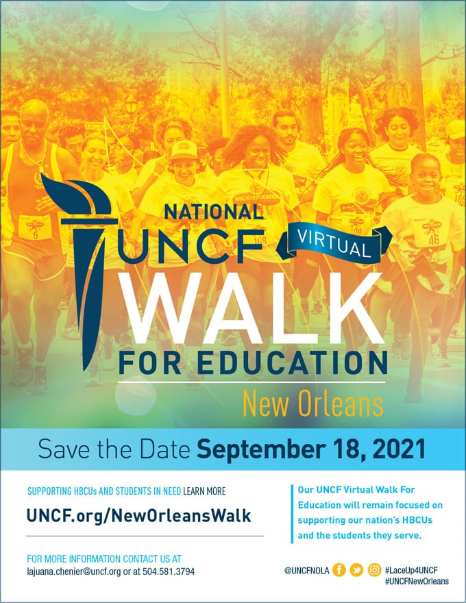 2021 Walk for Education – New Orleans