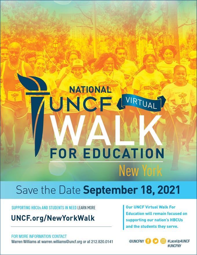 2021 Virtual Walk for Education – New York