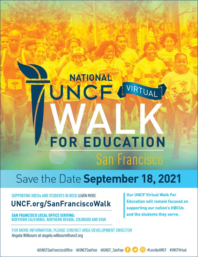 2021 Virtual Walk for Education – San Francisco