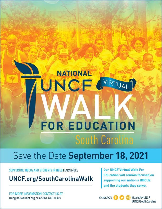 2021 Virtual Walk for Education – South Carolina