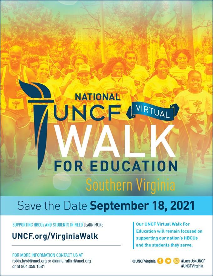 2021 Virtual Walk for Education – Southern Virginia