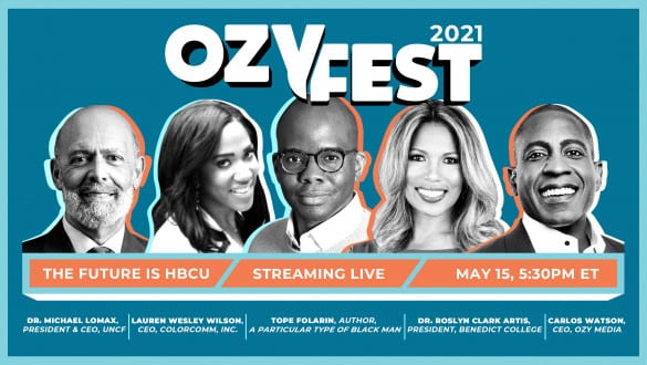 OzyFest promotional graphic