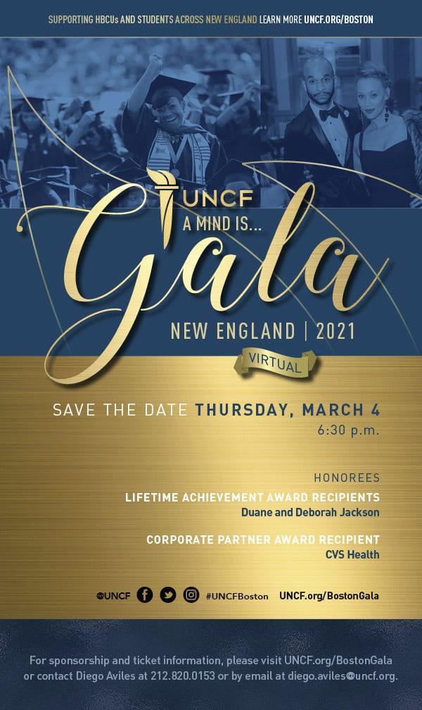 AMI New England Gala Flyer
