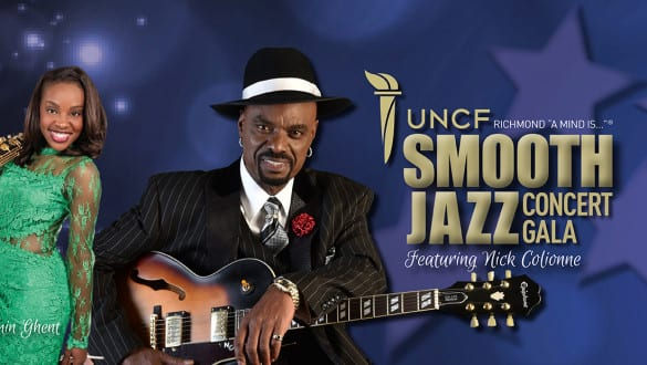 UNCF A Mind is Smooth Jazz Gala banner