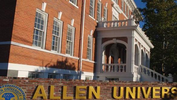 Allen University sign