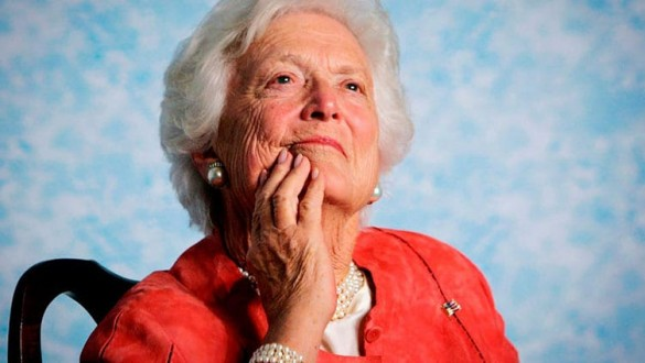 Headshot of Barbara Bush