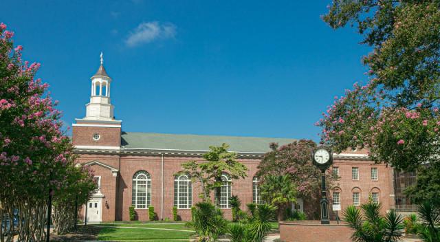 Benedict College's chapel at Clack Plaza