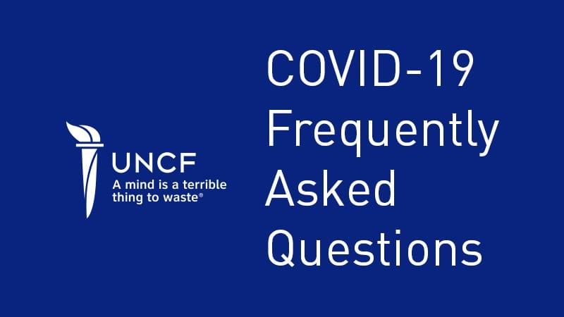 COVID FAQ banner