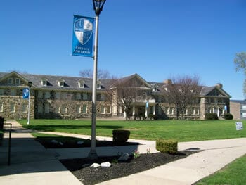 Campus of Cheyney University of Pennsylvania
