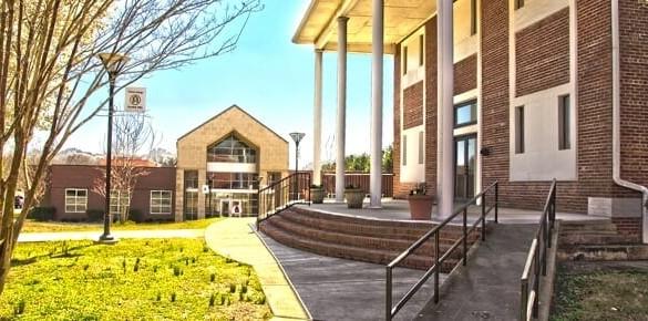 Campus of Clinton College
