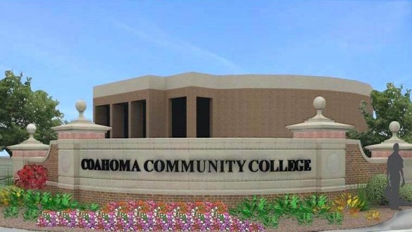 Coahoma Community College sign