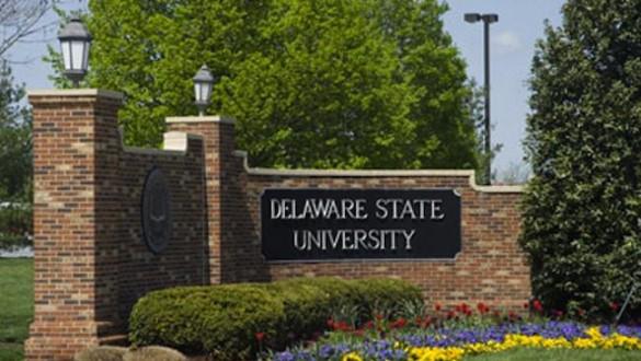 Delaware State University sign