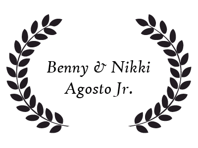 Donor - Benny and Nikki Agosto Jr.
