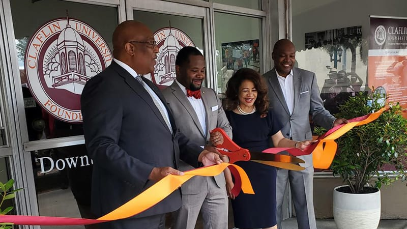 CLaflin's new Downtown Center opens with a ribbon cutting ceremony