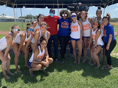Florida memorial university volleyball team 2021