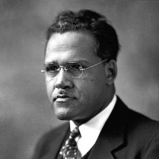 Black and white photograph of Frederick Douglass Patterson