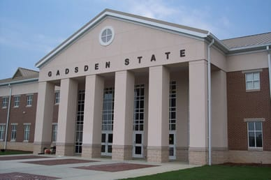 Gadsden State Community College sign