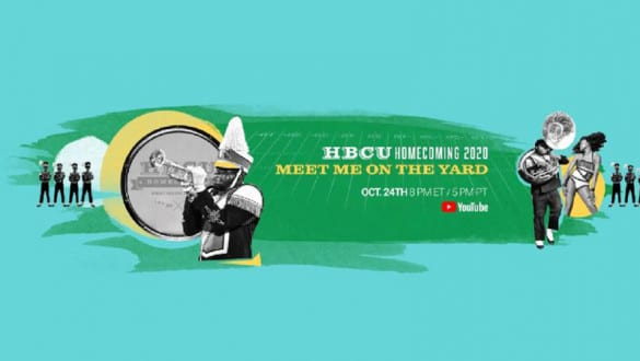 HBCU meet me on the yard banner