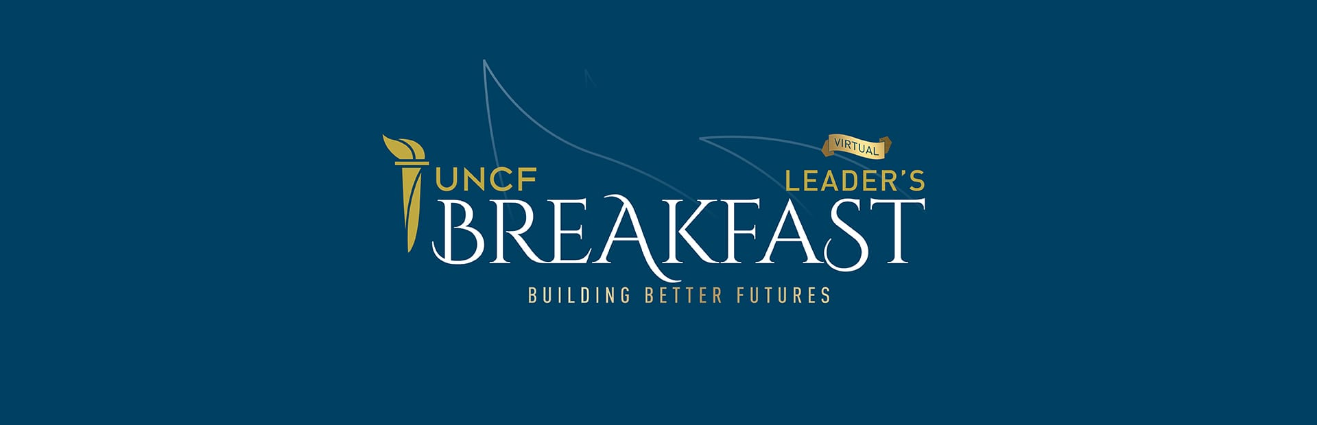 virtual leaders luncheon banner