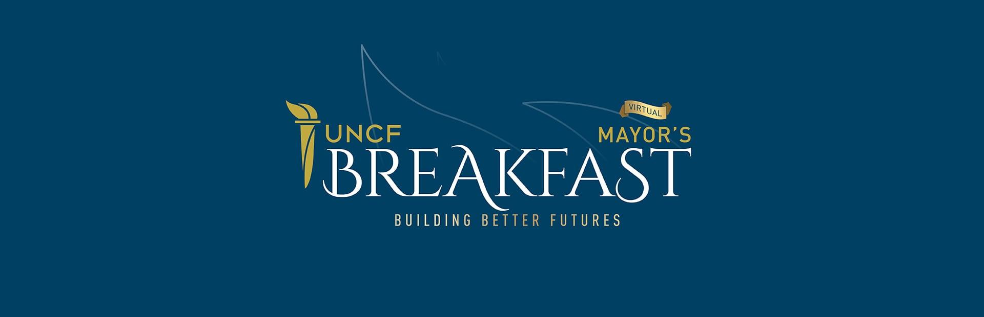 virtual mayors breakfast banner