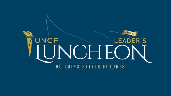 Virtual luncheon banner