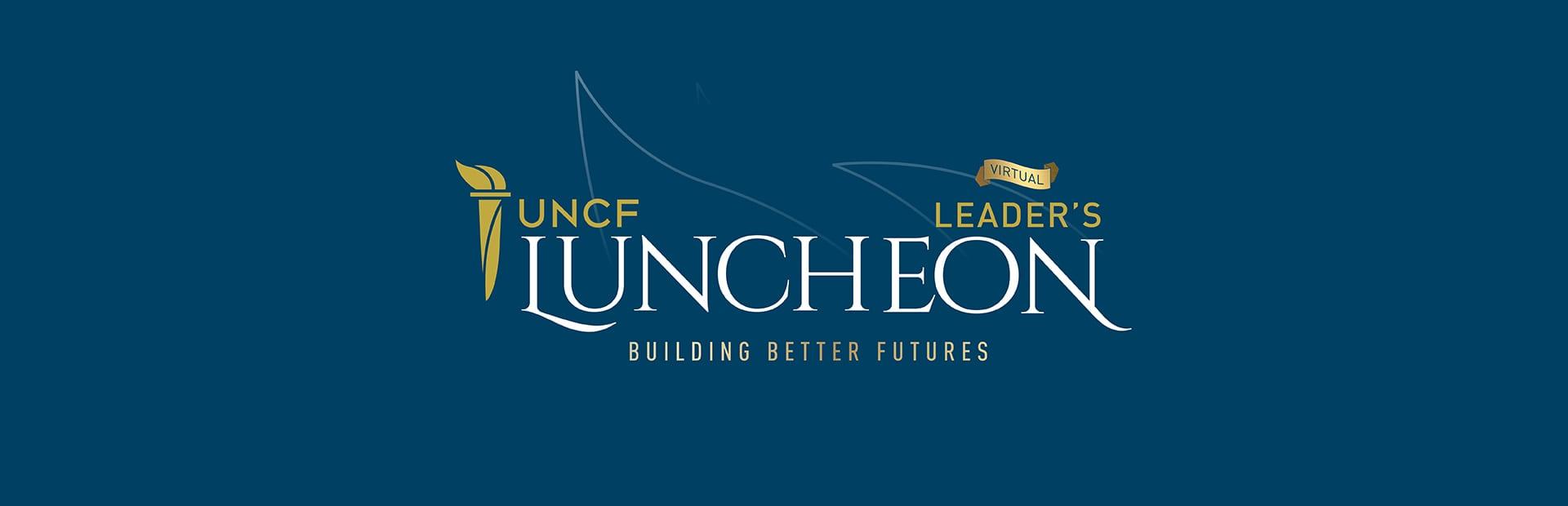 Virtual luncheon banner