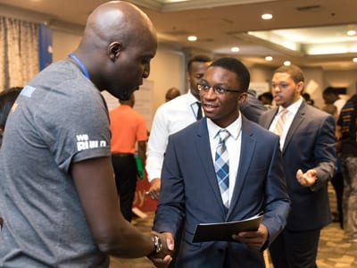 Students attending the UNCF HBCU Innovation Summit