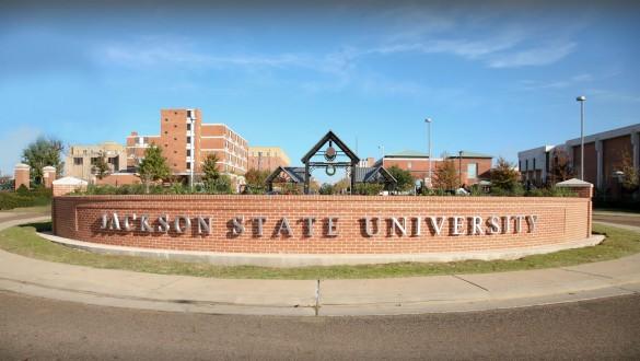 Jackson State University sign
